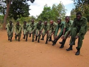 Rangers preparing for action