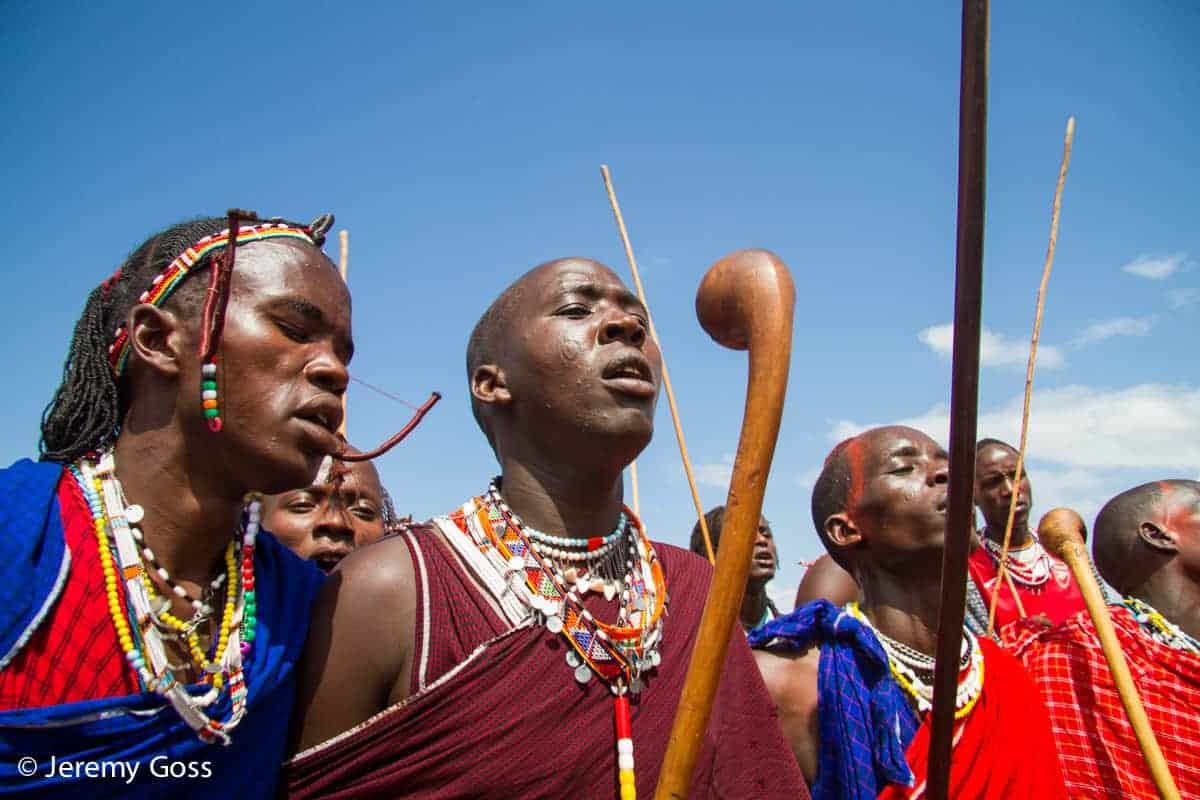 Warriors do battle at the Maasai Olympics