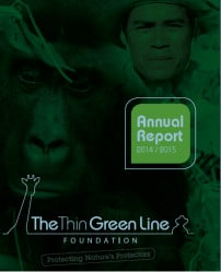 The Thin Green Line Foundation 2014/2015 Annual Report