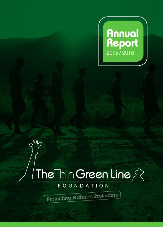 The Thin Green Line Foundation 2015/2016 Annual Report