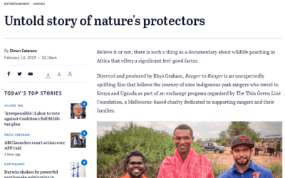 "The Age – ""Untold story of nature's protectors"" (Feb 2019)"