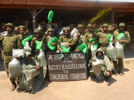 Ranger group thankyou to supporters