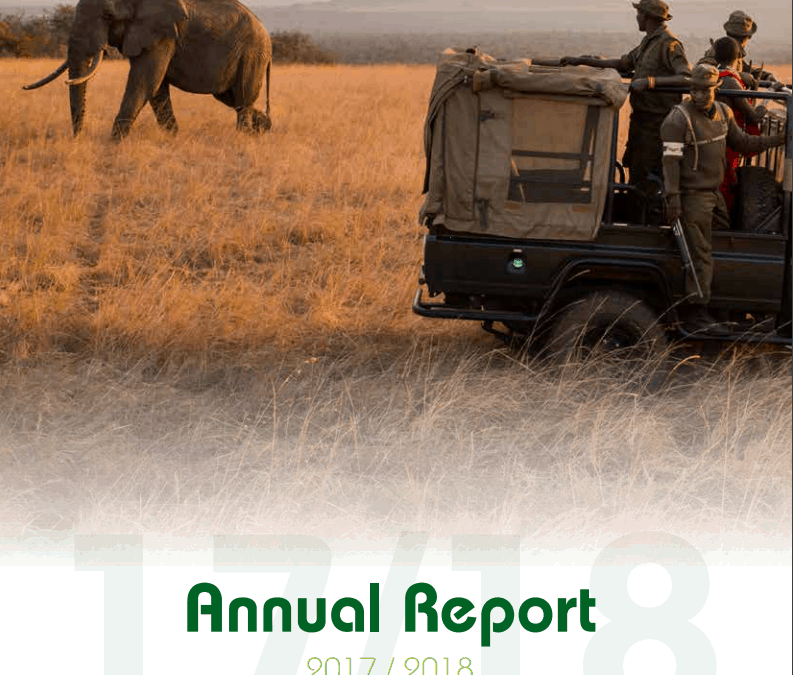 The Thin Green Line Foundatin 2017-2018 annual report cover