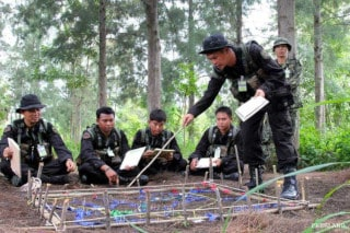 Training for Thai rangers